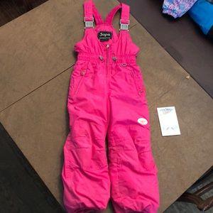 Kids ski bib. Size 4